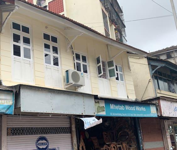 Perfect to explore Mumbai 1BHK Mahim W Nr Hinduja