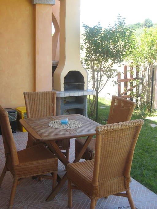 Delizioso spazio privato per aperitivi e cene in tranquillità