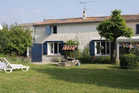 Au coeur du Marais Poitevin - Magné - ที่พักพร้อมอาหารเช้า