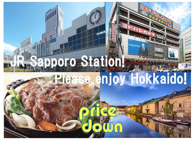30 seconds walk to subway station! Very close!!802