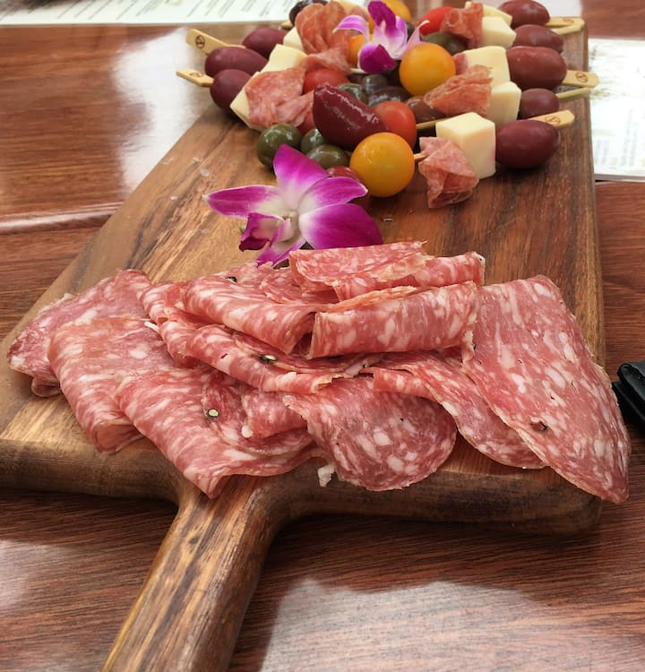 Vigilucci's Meat & Cheese Plate