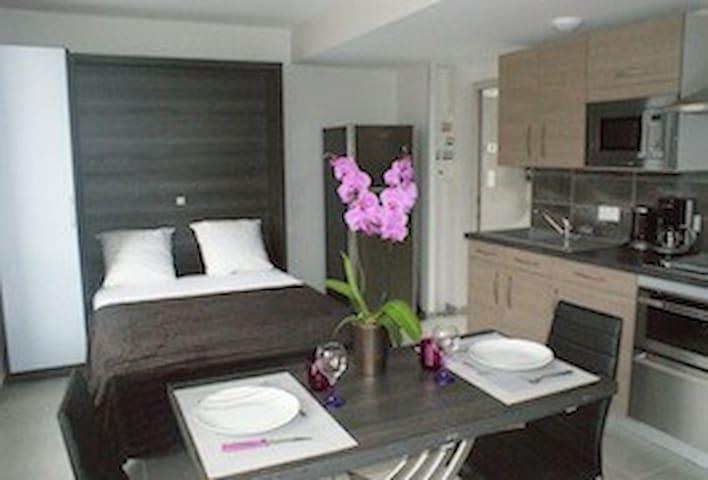 LODGE LILAS pour 2 Personnes + SPA  - La Ferrière-aux-Étangs - Lägenhet