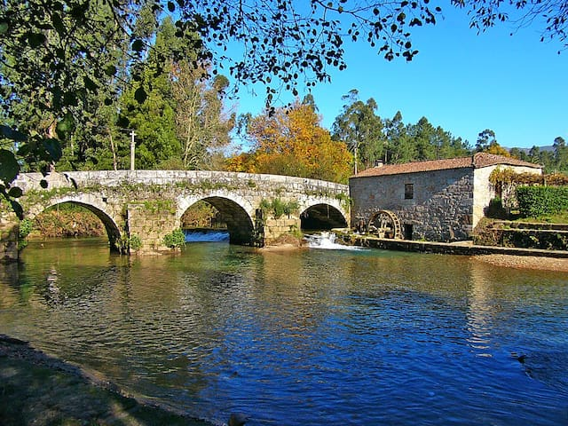 Watermill in Estorãos - Ponte de Lima