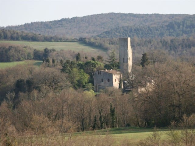 Torre di Sant'Ansano Siena, Tuscany - Monteroni d'Arbia