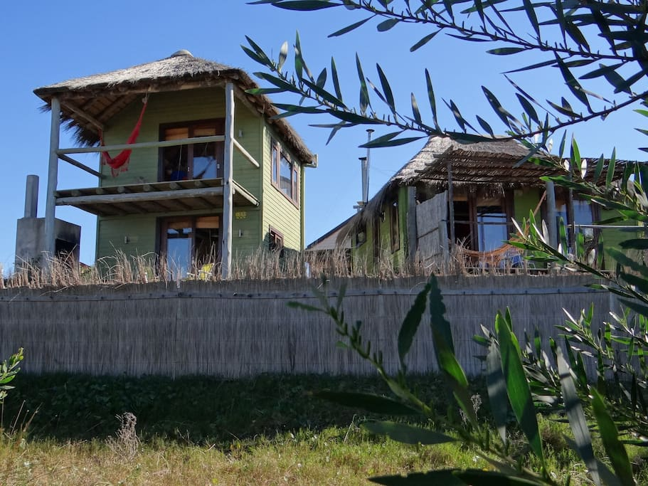 There are 3 cabins in total - Bossanova, Samba and Maracatú - all have great views and services.