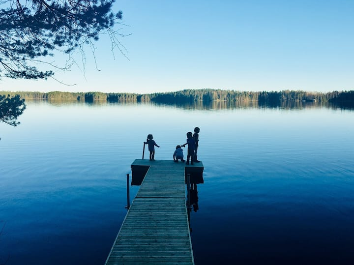 Authentic Finnish Cottage Experience Near Helsinki
