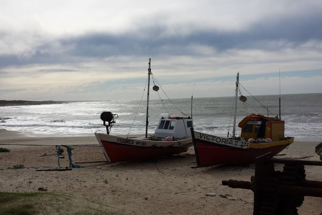 playa de los pescadores- punta del diablo