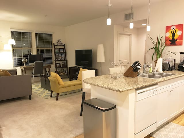 Cozy one BR apartment in a gated community