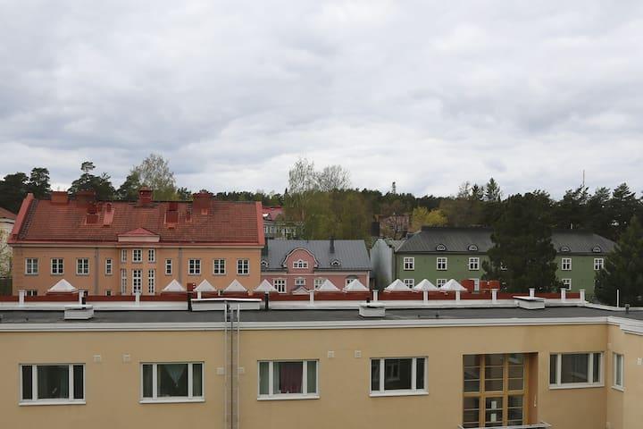 Viehättävä huoneisto Pyynikillä. Great location.
