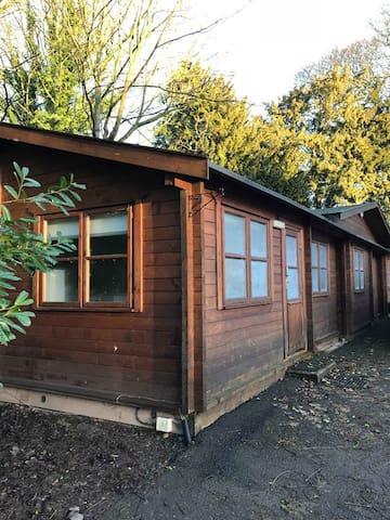 Shropshire log cabin