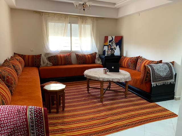 An apartment in a good area, cozy, clean and new