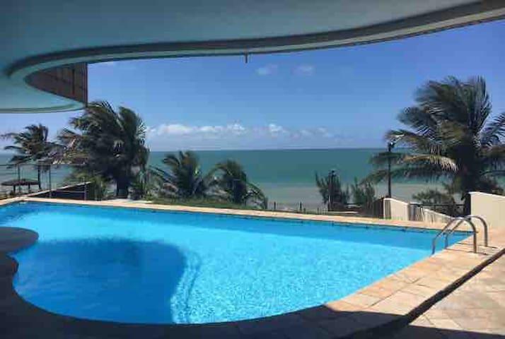 Flat acesso direto ao Mar! Ponta Negra - Beira Mar