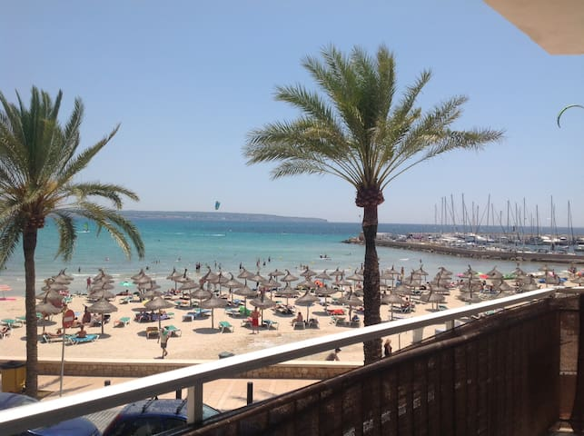 Beautiful beachfront apartment - Can Pastilla - Apartemen