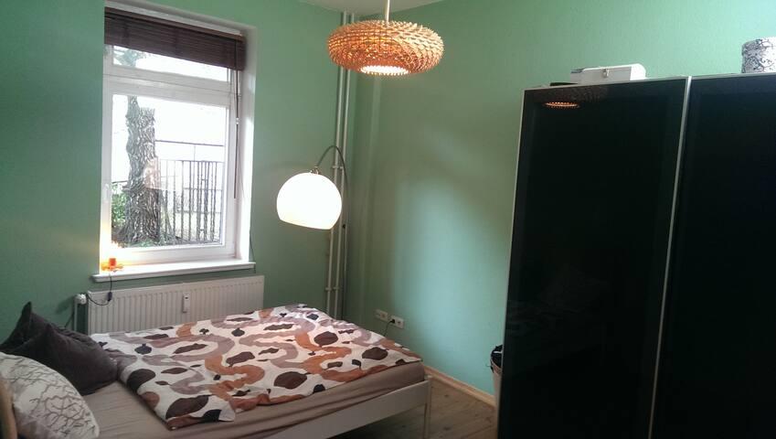 ruhiges Zimmer im Szeneviertel - Rostock - Apartment