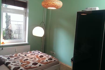 ruhiges Zimmer im Szeneviertel - Rostock - Apartemen