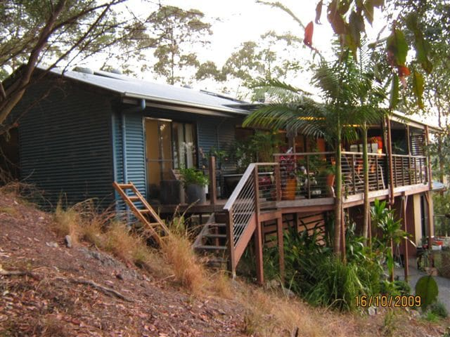 Blues Festival retreat - Mullumbimby Creek - Rumah