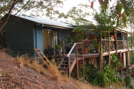 Blues Festival retreat - Mullumbimby Creek - Talo