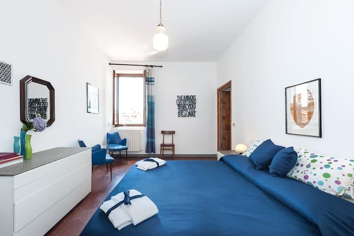 Attic floor apartment + breakfast! - Florencia - Departamento