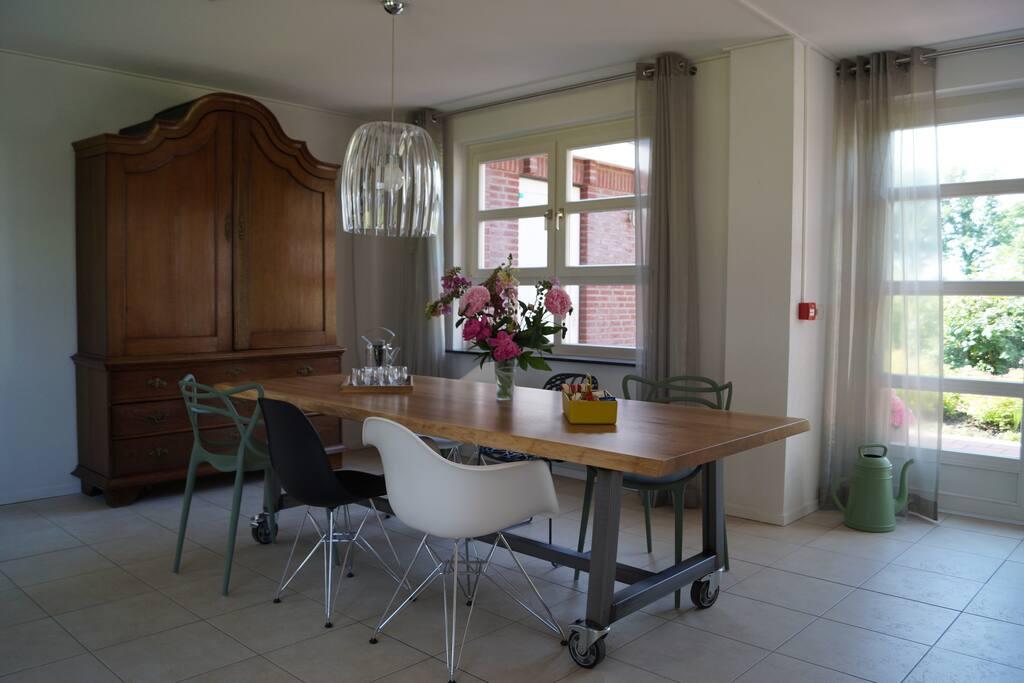 Livingroom Logement De Blauwe Sluis