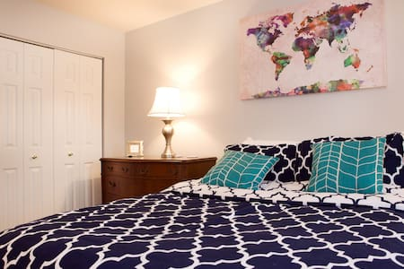 Comfortable Room Near Annapolis/DC - Townhouse