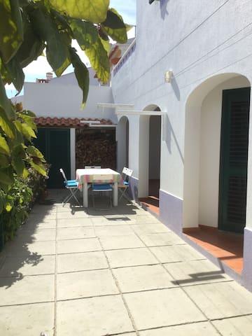 Quintal da Horta com Barbecue - Vila Nova de Milfontes - Appartement