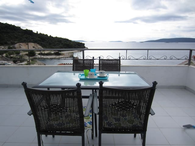 20m2 terace and wiev from apartment
