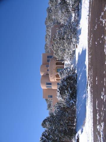 New Mexico Mountain Getaway - Tijeras - Rumah
