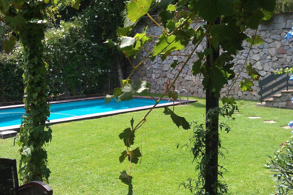 Apartamento jard n privado piscina apartamentos en - Piscina sant cugat ...