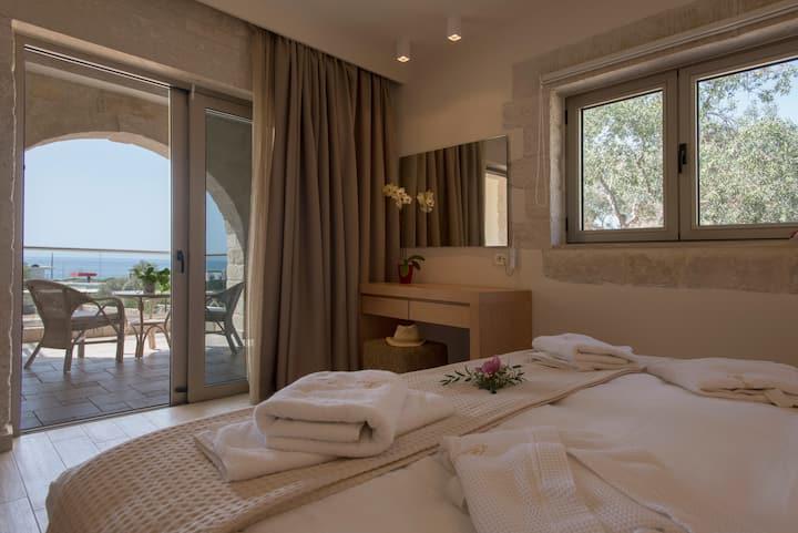 Antigone deluxe 1 bedroom Apartment with Sea view