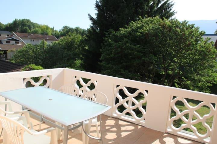 3-pièces tout confort avec terrasse