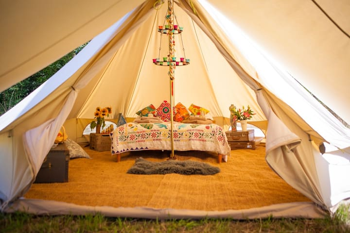 Romantic Bell Tent for two Blakemere - Herefordshire - 텐트