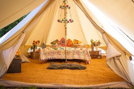 Romantic Bell Tent for two Blakemere - Herefordshire - Telt