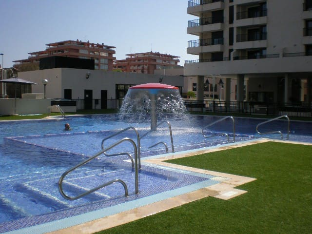 Beautiful flat Valencia beach - Alboraya - Huoneisto