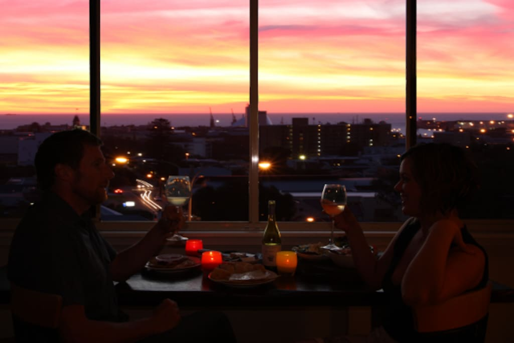 Dining with spectacular Views