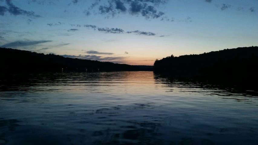 As the sun has set