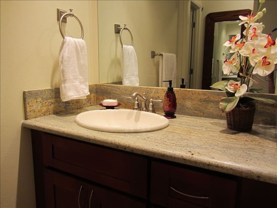 New remodeled bathroom.