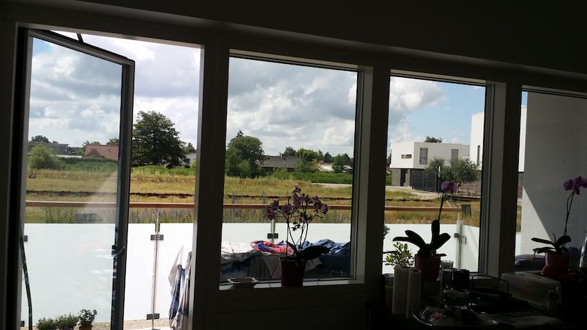 New apartment with balcony for rent in Grenaa
