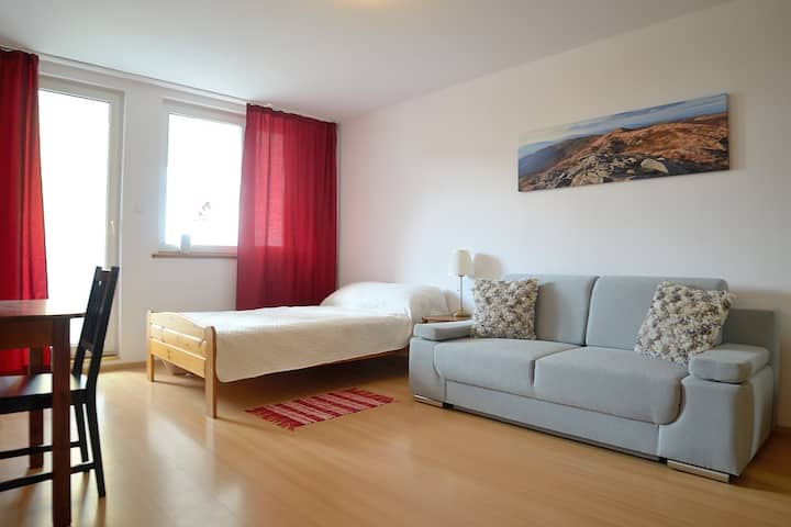 Warm and cozy newly remodeled apartment.