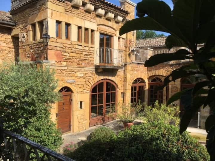 7 chambres d'hôtes au cœur du vignoble Beaujolais
