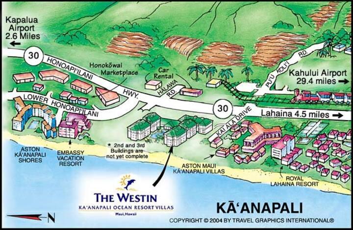 1 BR Oceanview Suite at Westin Ka'anapali Villas