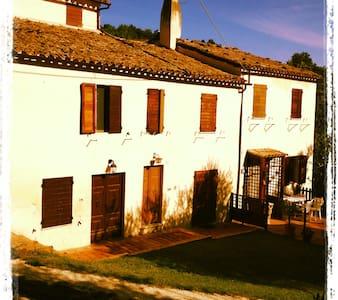 La Casa delle Piole immersa nel verde delle Marche - Macine-borgo Loreto - Maison