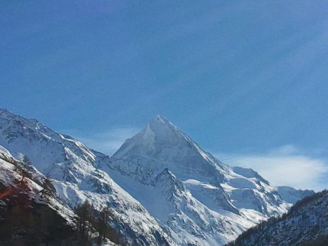 Vue sur glacier + 2 x 4'000 mètres - Vex - Villa