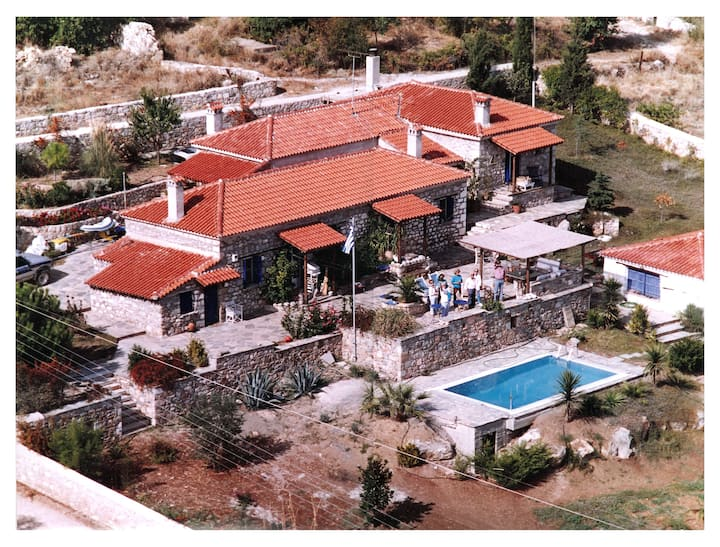 Authentically Restored Villa in Central Greece
