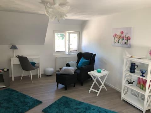 Charmante Wohnung auf Reiterhof Wasserburg Anstel