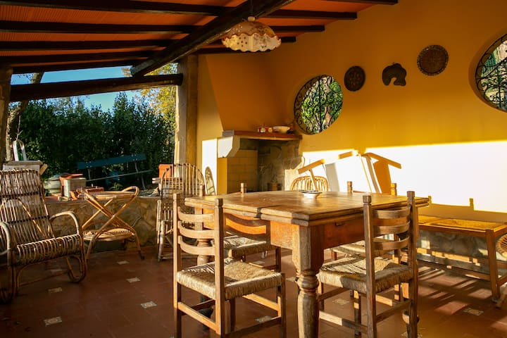 Sunny country house in the heart of Chianti