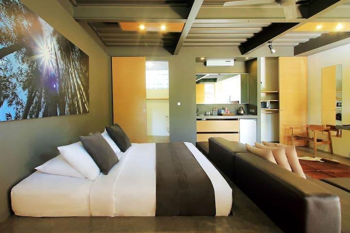 Modern Stylish Deluxe Apartment Seminyak 1