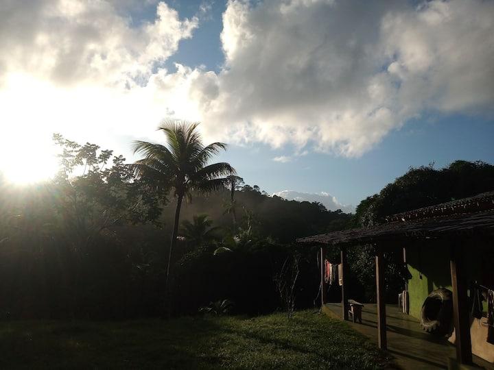 Sítio Aos Sociais, paradisíaco, santuário natural.