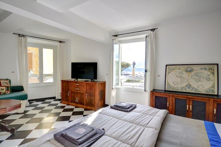 BALCONY SEA VIEW-Centrale, Santa Margherita Ligure