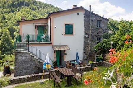Two bedrooms close to Chiavari - Borzonasca