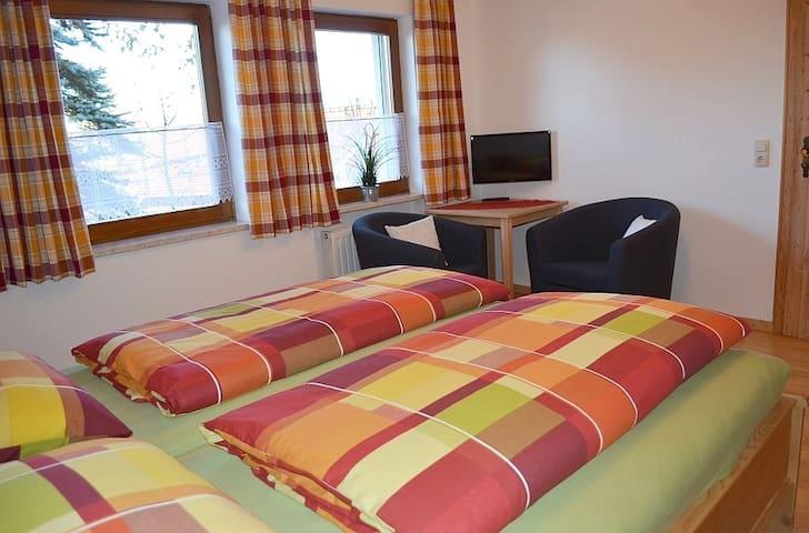 Geräumige, neue Ferienwohnung - Gotteszell - Apartamento